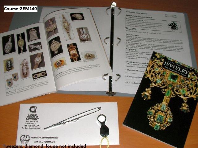 GEM 140 Jewellery, History and Design – Gemology World