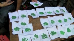 Selection of jadeite